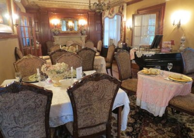 Tea Parlor | Dover NH Hotel