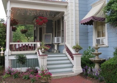 Dover NH Hotel | Tea Room Porch