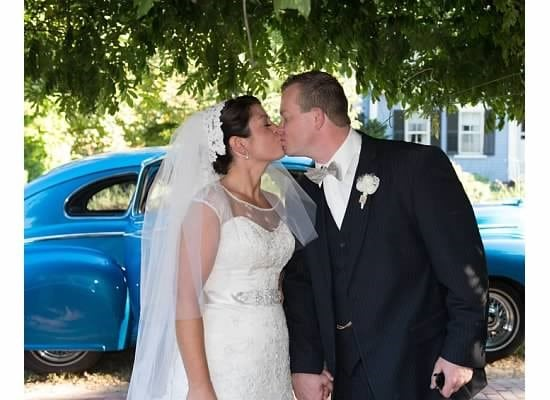 Here is an image of a couple that chose the silver fountain inn as their venue. We host events including intimate weddings at our hotel seacoast nh