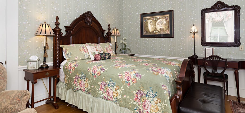 Here is The Duke bed. You'll be spending plenty of time here as you relax in your Dover NH hotel room.