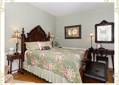 One of our most famous Dover NH Hotel Rooms, the Duke.