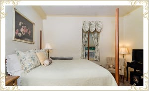The Silver Fountain Inn | Dover NH Accommodations | Room: The English Rose