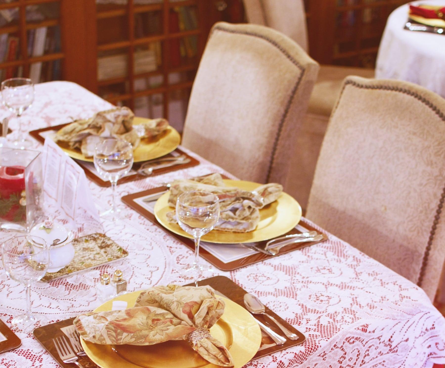 Tea Parlor side table