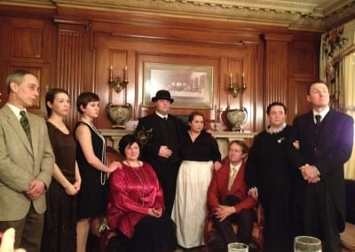 Dinner theater characters in Dover NH