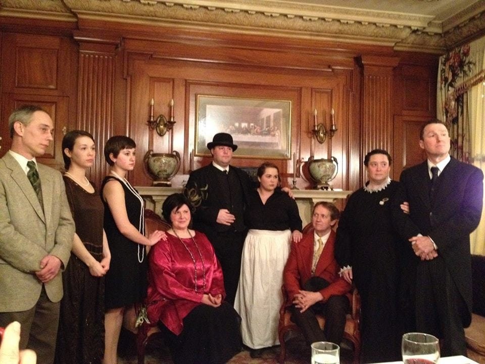 Dinner theater characters in a show at our Dover NH area hotel