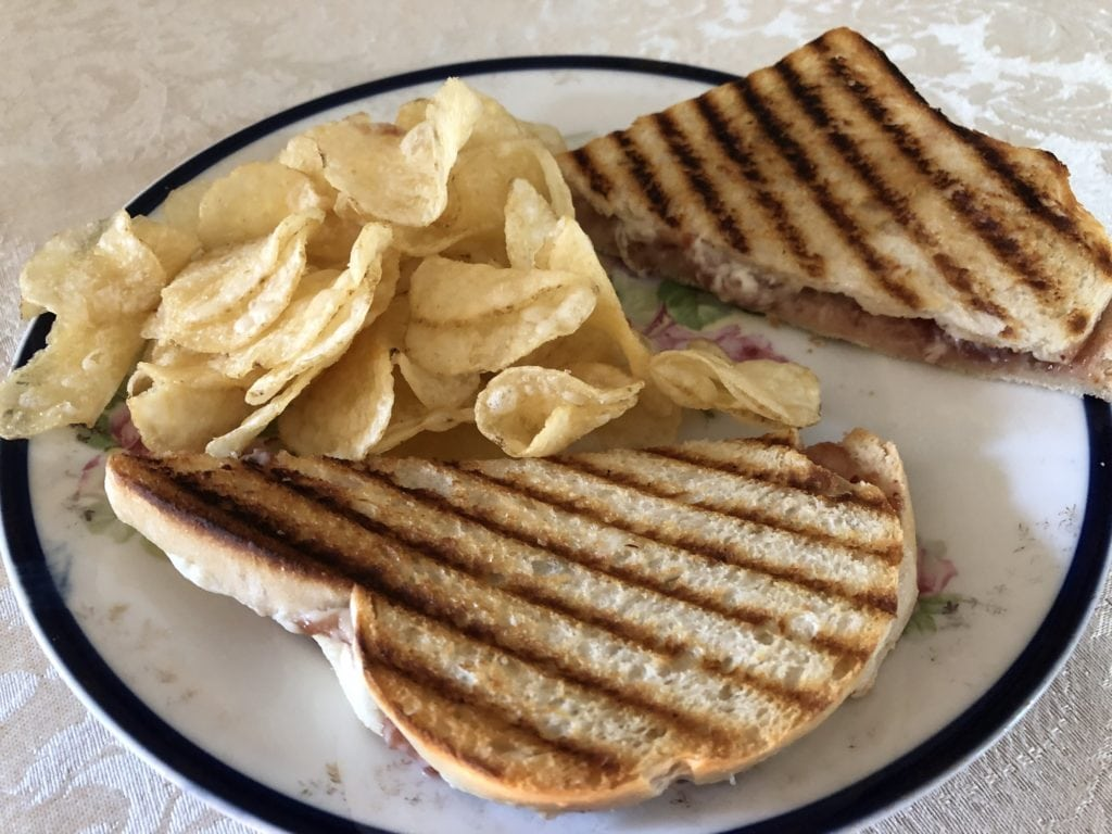 Dover NH Restaurants   Holiday Jam and Cheese Sandwich