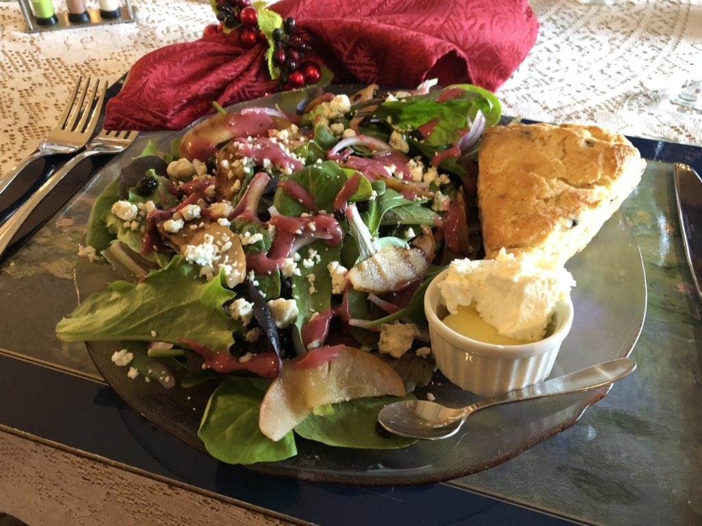 Restaurants in Dover NH | Grilled Pear Salad