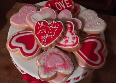 We do all kinds of different cookie shapes for your special day!
